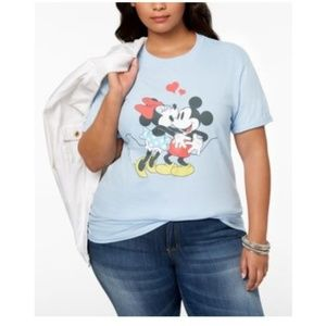 Disney Mickey and Minnie Mouse Shirt Top